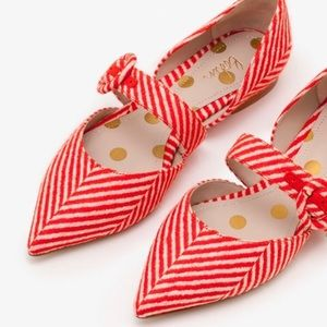 Boden Evie Pointed Flats, size US 8.5 (UK 39)